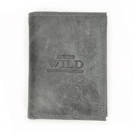 Portofel barbati din piele naturala Wild N4-CHM RFID9