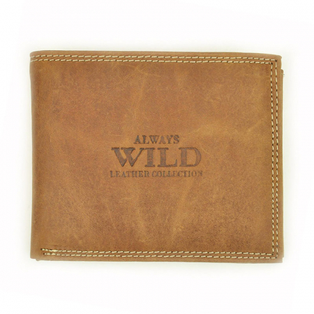 Portofel barbati din piele naturala Wild N992-CHM RFID9