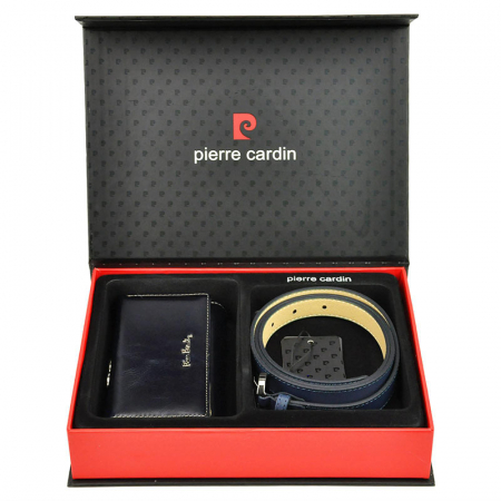 Set cadou dama portofel si curea dama din piele naturala Pierre Cardin ZG-W-04 [0]