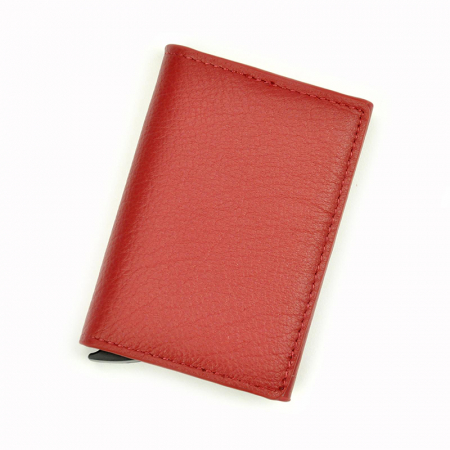 Portcard barbati din piele naturala PB2505, cu protectie RFID10