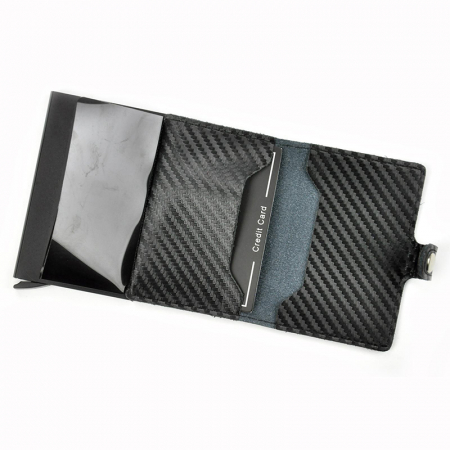 Portcard barbati din piele naturala PB2502, cu protectie RFID11