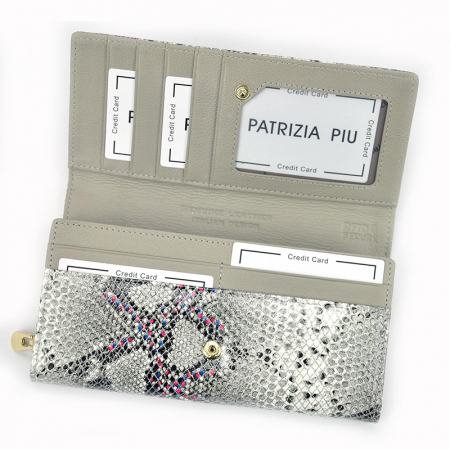 Portofel dama din piele naturala Patrizia Piu PD2508 [4]