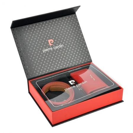 Set cadou dama portofel si curea dama din piele naturala Pierre Cardin, PDS602 [3]