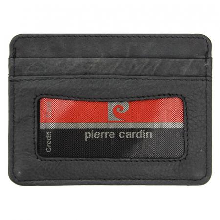 Portcard barbati din piele naturala Pierre Cardin TILAK39 P024