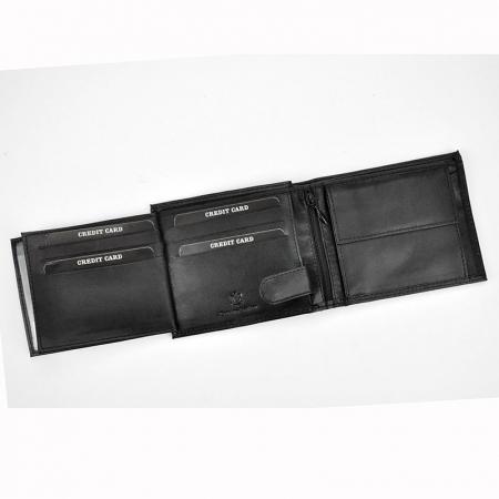 Portofel barbati din piele naturala Cavaldi N992-GSD-H5