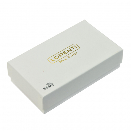 Portofel dama din piele naturala Lorenti 76119-BPR RFID [8]