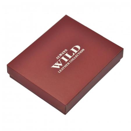 Portofel barbati din piele naturala Wild N992L-VTK RFID [8]