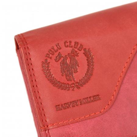 Portofel dama din piele naturala Harvey Miller Polo Club 1743 155 [3]