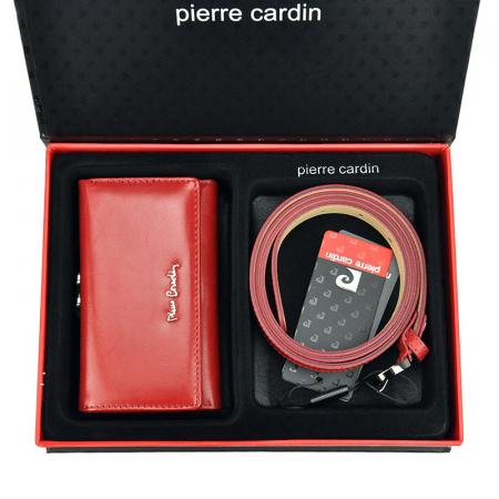 Set cadou dama portofel si curea dama din piele naturala Pierre Cardin ZG-W-07 [0]