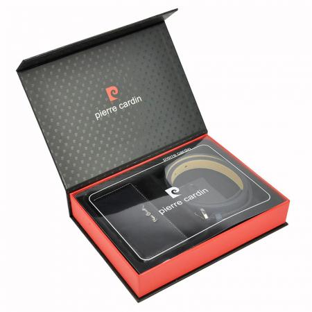Set cadou dama portofel si curea dama din piele naturala Pierre Cardin ZG-W-04 [4]
