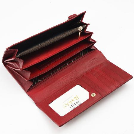 Portofel dama din piele naturala Rovicky 8805-MIR RFID3