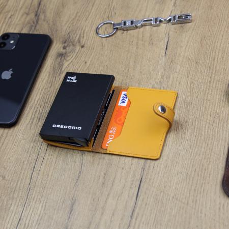 Portcard barbati din piele naturala PB2500, cu protectie RFID [3]