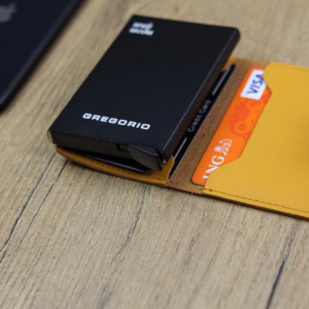Portcard barbati din piele naturala PB2500, cu protectie RFID [4]