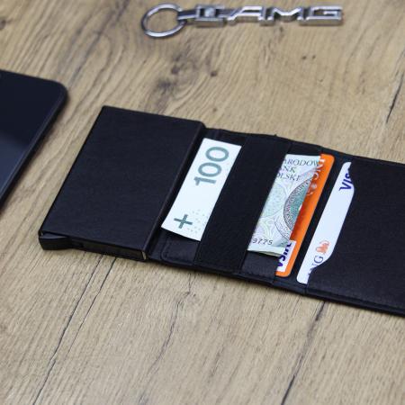 Portcard barbati din piele naturala PB2503, cu protectie RFID [1]
