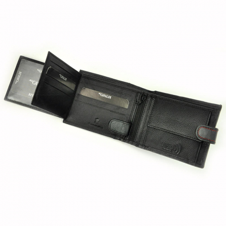 Portofel barbati din piele naturala Cavaldi N992L-SCV RFID10