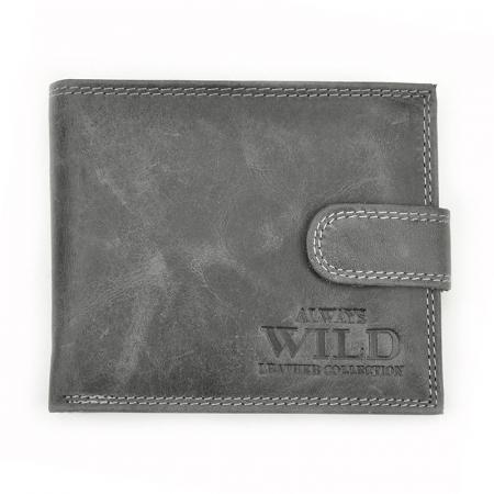 Portofel barbati din piele naturala Wild N992L-CHM RFID11