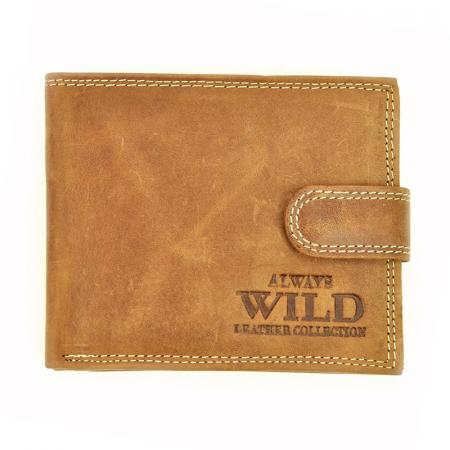 Portofel barbati din piele naturala Wild N992L-CHM RFID0