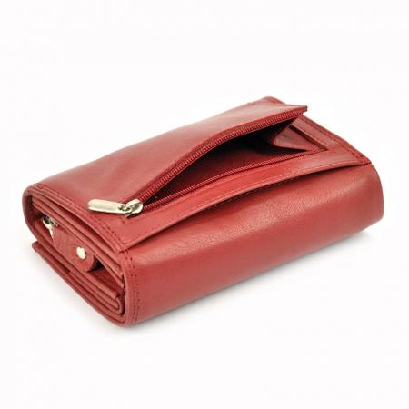 Portofel dama din piele naturala Money Kepper 12145 RFID9