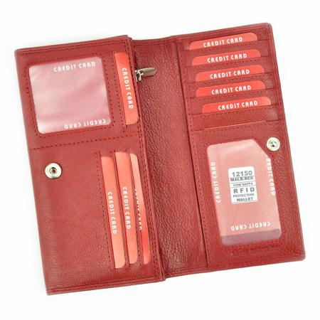Portofel dama din piele naturala Money Kepper 12150 RFID [4]