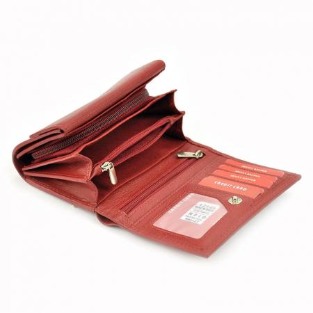 Portofel dama din piele naturala Money Kepper 12145 RFID5