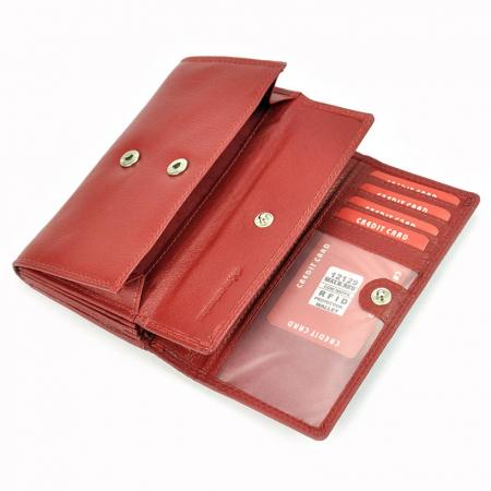 Portofel dama din piele naturala Money Kepper 12129 RFID [6]