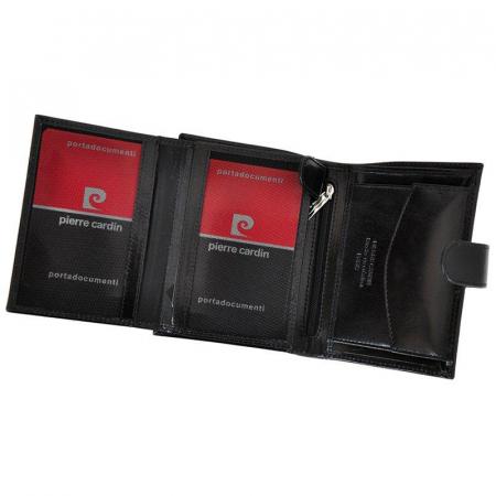 Set cadou barbati portofel si curea barbati din piele naturala Pierre Cardin, PBS700 [4]
