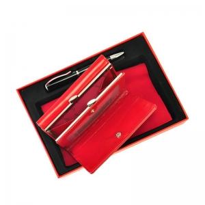 Set cadou dama portofel din piele naturala si pix Pierre Cardin, PDS500 [2]
