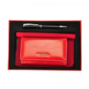 Set cadou dama portofel din piele naturala si pix Pierre Cardin, PDS500 [0]
