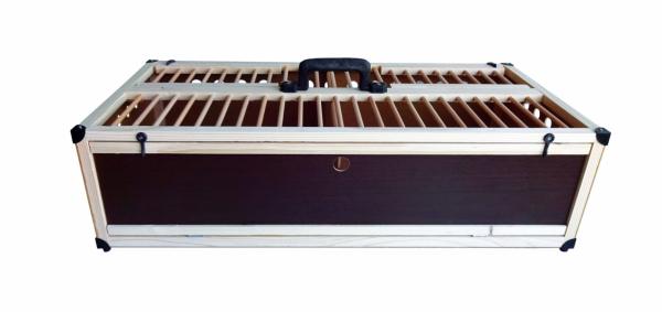 Cușcă pentru transport porumbei 49x40x25 premium