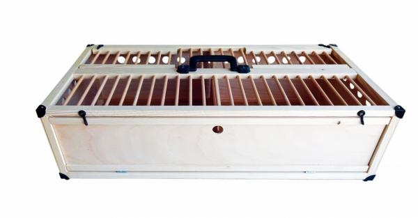 Cușcă pentru transport porumbei 80x40x25 0