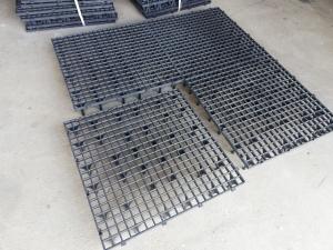 Grătar pentru podea 50 x 50 x 6cm gri 1