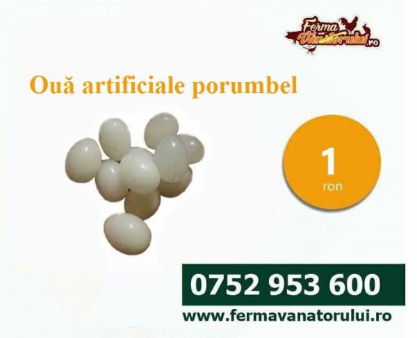 Ouă artificiale pentru porumbei 0