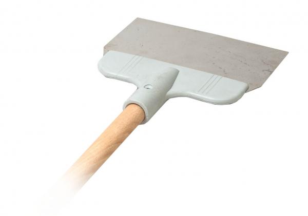 Șpaclu 20 cm cu mâner lung de lemn 0