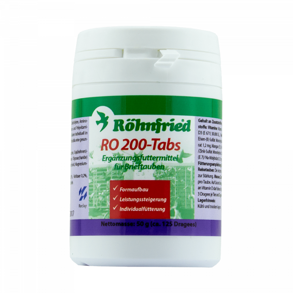 Ro 200 tabs 125 pastile Rohnfried 0