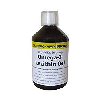 Ulei de omega 3 și lecitină Dr. Brockamp 500ml