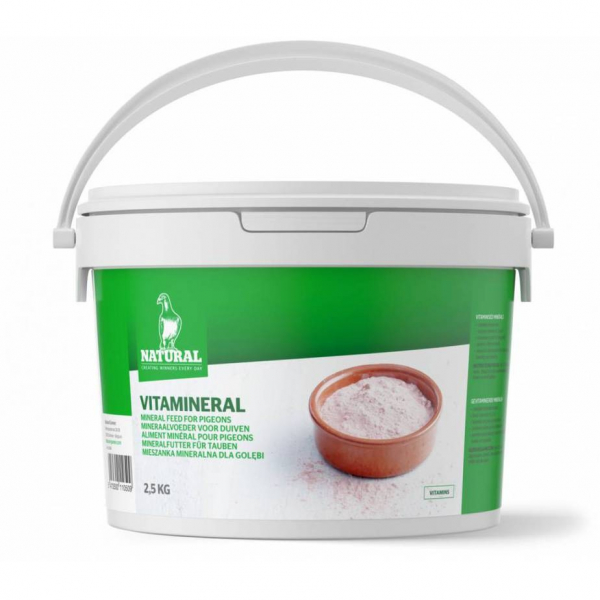 Vitamineral găleată 2.5kg Natural 0