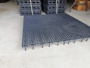 Grătar pentru podea 50 x 50 x 8cm gri