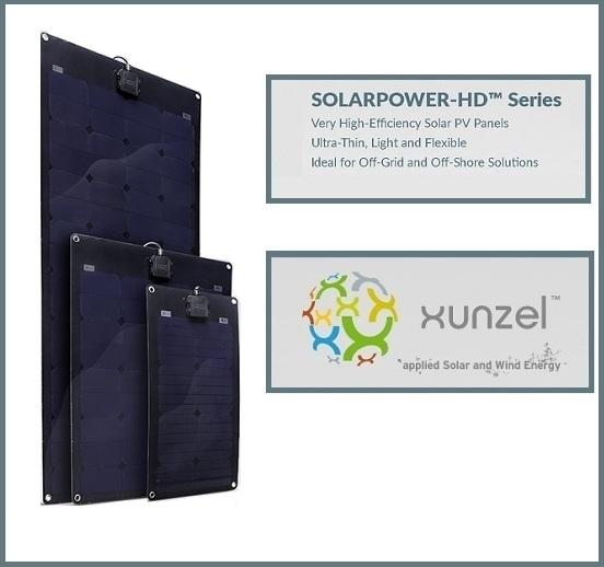 Xunzel solarpower hd