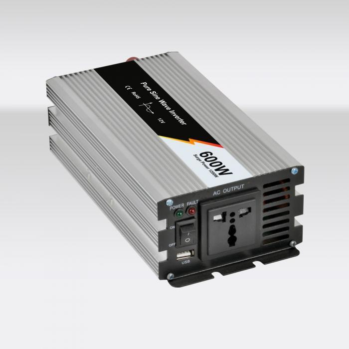 Inverter Poweracu Pur Sinus 600W 12V JYP600/12-B-big