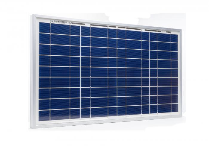 Photovoltaic Panel C-Si Off-grid SOLARPOWER 30W-12V XUNZEL with cable 2+2M SOLZTK30-big