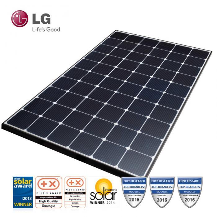 Monocrystalline Solar Panel LG LG285S1C-L4 MonoX AWM 285Wp-big