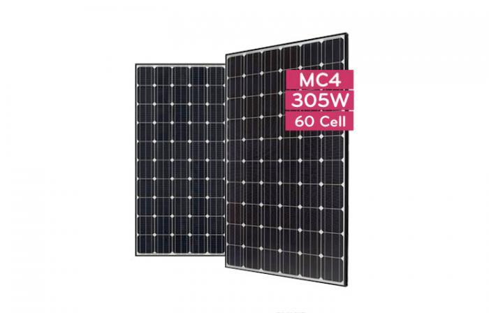 Monocrystalline Solar Panel LG305N1C-B3 - 305 Wp (MonoX/NeON AWM)-big