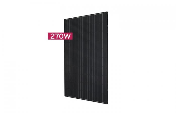 Monocrystalline Solar Panel LG270S1K-B3 - 270 Wp (MonoX/black AWM)-big