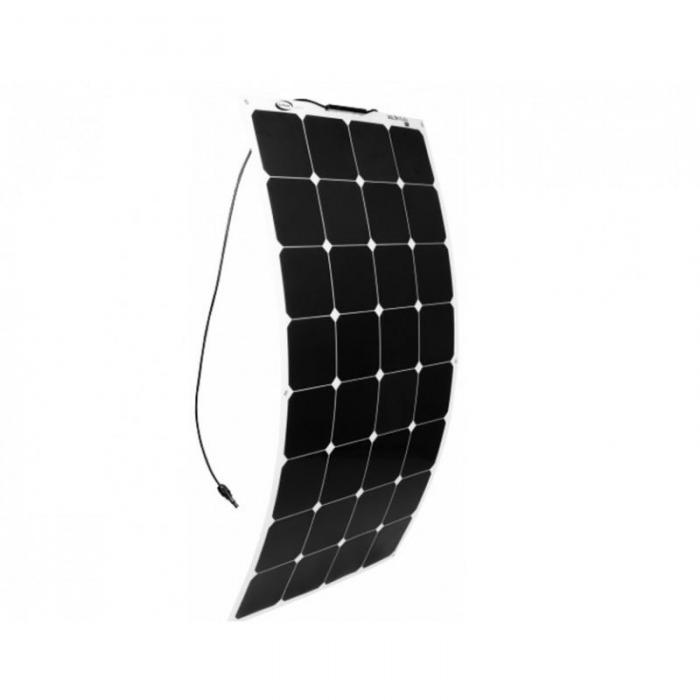 Flexible Solar Panel Sunpower 12V 100W with cable MC4-big