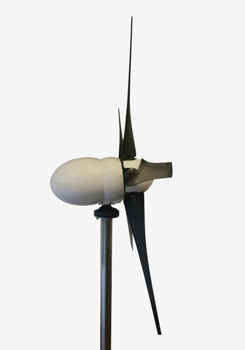 Wind Turbine Bornay Bee 800 W 48V 5 blades with Bee 800/48 controller-big