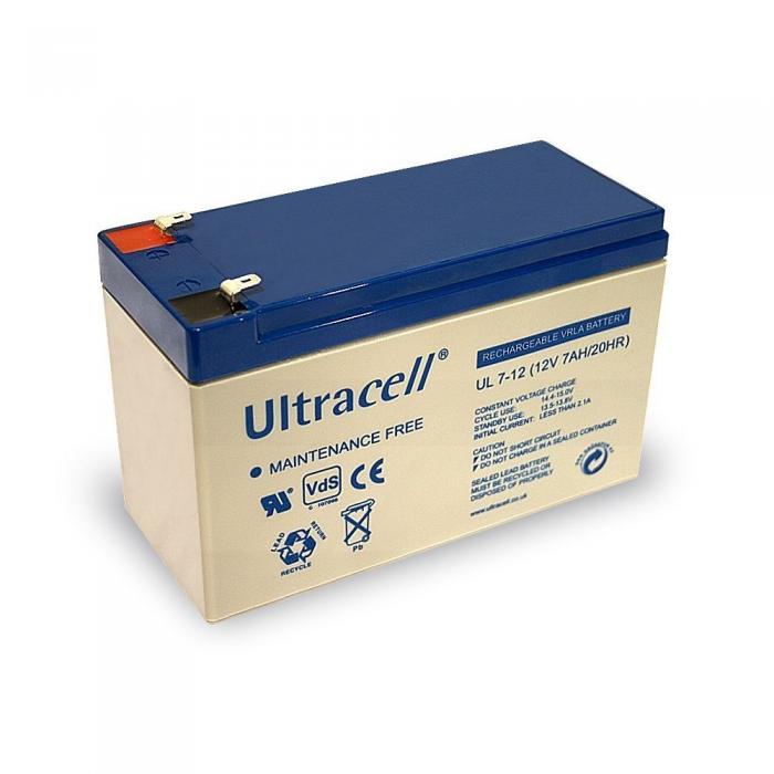 VRLA Battery ULTRACELL 12 V 7 Ah UL7-12-big