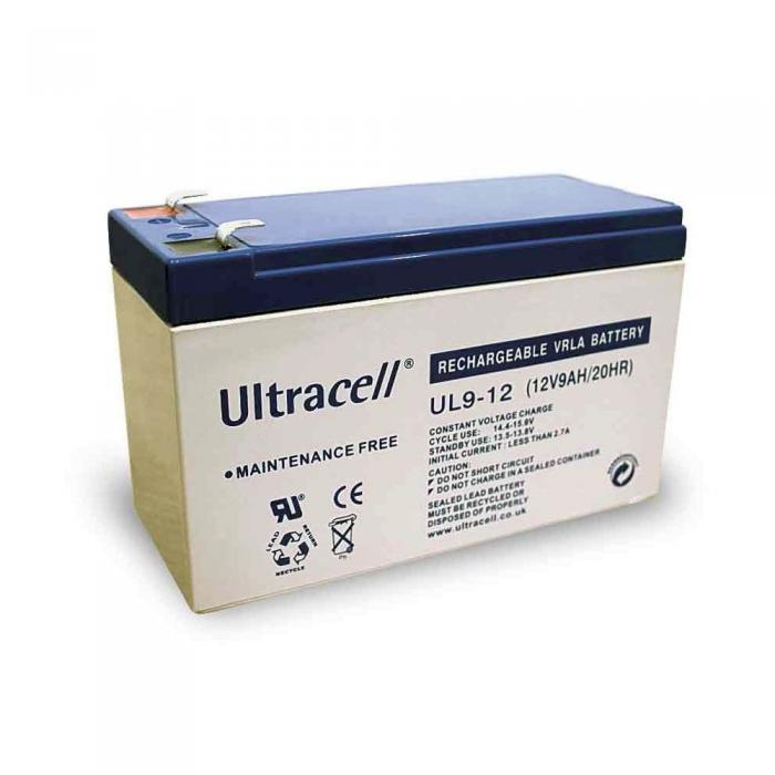 VRLA Battery ULTRACELL 12 V 9 Ah UL9-12-big