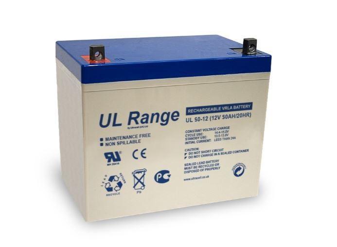 VRLA Battery ULTRACELL 12 V 50 Ah UL50-12-big