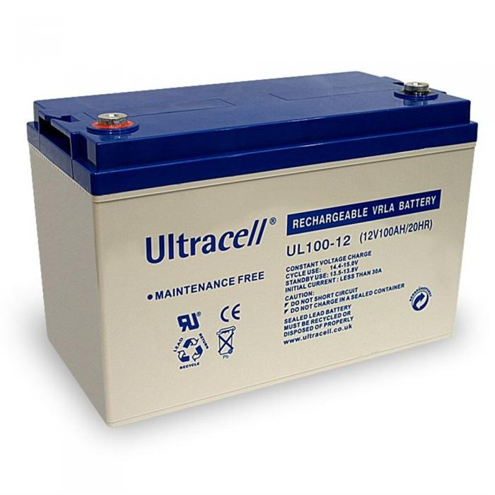 VRLA Battery ULTRACELL 12 V 100 Ah UL100-12-big
