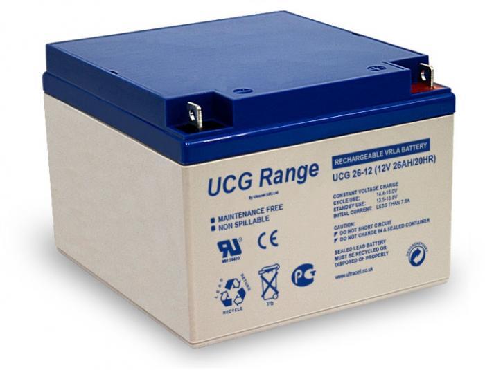 VRLA Battery ULTRACELL 12 V 26 Ah UCG26-12-big